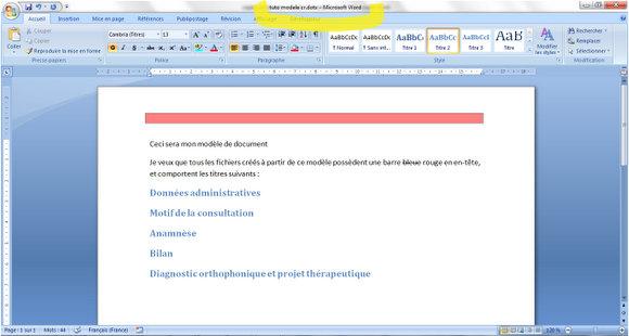 Tutoriel Creer Un Modele De Document Ortho Co