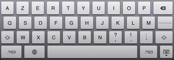 taper rapidement sur un clavier