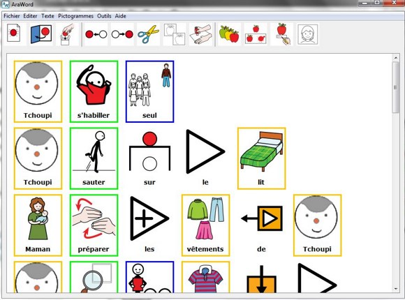 Préférence pictogrammes | Ortho & Co. CW34