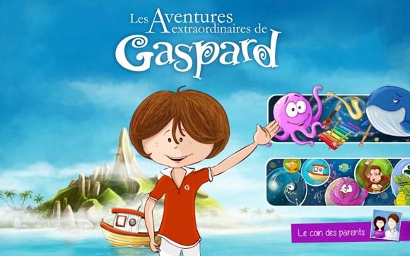 Gaspard_ecran acceuil
